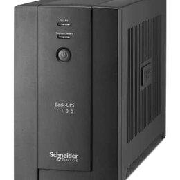 Источники бесперебойного питания, сетевые фильтры - ИБП Schneider Electric Back-UPS SX3 1100 ВА/660 Вт, 6 разъемов IEC 320 С13, 0