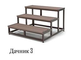 Лестницы и элементы лестниц - Приставная лестница. Ступени из ДПК., 0