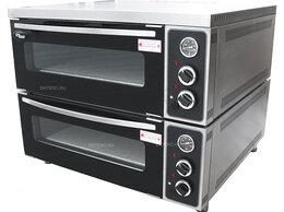 Жарочные и пекарские шкафы - Печь для пиццы Grill Master ППЭ/2 (с природным…, 0