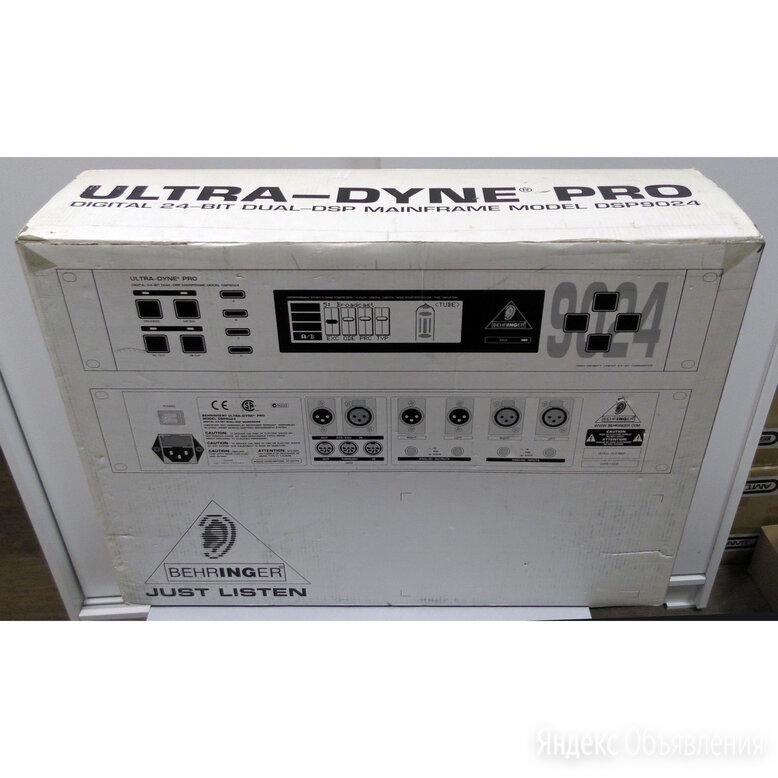 Behringer Ultra-Dyne Pro DSP 9024 по цене 17500₽ - Оборудование для звукозаписывающих студий, фото 0
