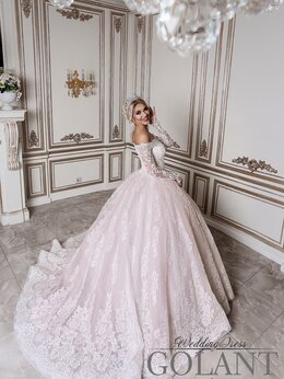 Платья - Шикарное суперпышное свадебное платье, 0