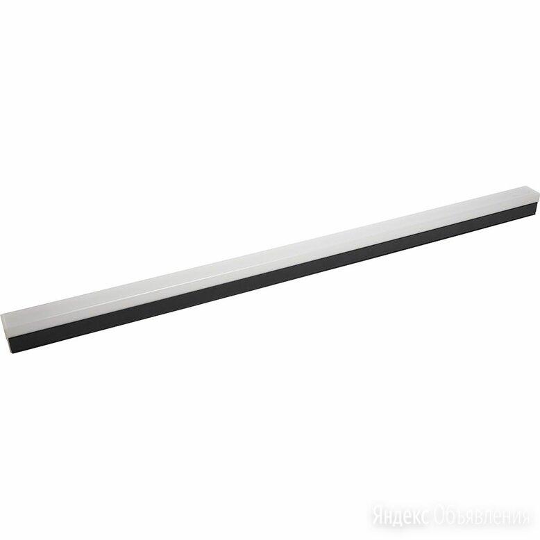 Светильник линейный светодиодный черный 118 см 6500К 2400Lm AL4020 по цене 2713₽ - Настенно-потолочные светильники, фото 0