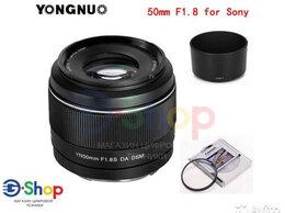Объективы - Объектив YN50mm F1.8S DA DSM Sony E, 0