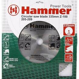 Пильные диски - Пильный диск Hammer Flex 205-209 CSB PL 335х30 мм, 0