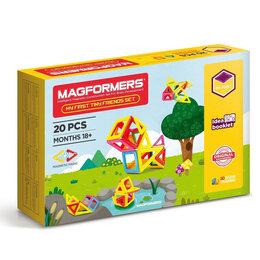 Конструкторы - Магнитный конструктор magformers Tiny Friends, 0