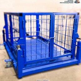 Прочие товары для животных - Весы для животных. Весы для КРС с подвесной клеткой ВП-С 1500 кг (1.5 тонны), 0