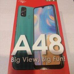 """Мобильные телефоны - ITEL A48 (6.1"""", 2/32 GB, 4G), 0"""