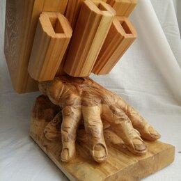 Подставки для ножей - Подставка для ножей цай дао и кухонных ножей, 0