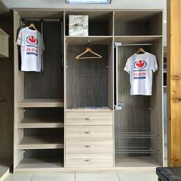 Шкафы, стенки, гарнитуры - Гардеробная Komandor с зеркалом, 0