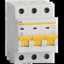 Электрические щиты и комплектующие -  Выключатель автоматический трехполюсный 50А D ВА47-29 4.5кА, 0