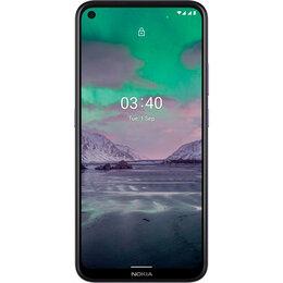 Мобильные телефоны - Смартфон Nokia 3.4 3/64GB Dual Sim Фиолетовый, 0