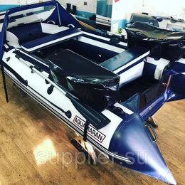 Моторные лодки и катера - Моторная лодка Аквамаран 380 НДНД под мотор до 25 л.с., 0