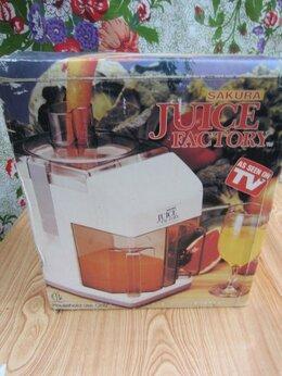 Соковыжималки и соковарки - Электрическая соковыжималка Juice Factory, 0