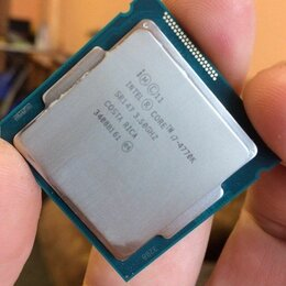 Процессоры (CPU) - Intel core i7 4770k (LGA 1150), 0
