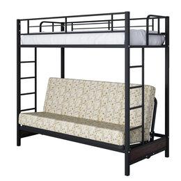 Кровати - Кровать двухъярусная Мадлен с диваном, 0