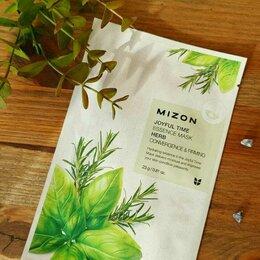 Маски - Маска тканевая с травяным комплексом Mizon Корея, 0