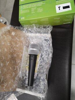 Микрофоны - Новый микрофон Shure SV100-A, 0