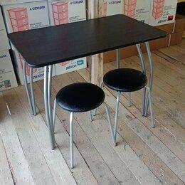 Столы и столики - Стол и 2 табуретки, 0