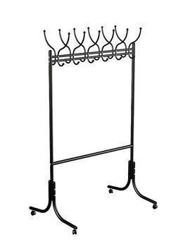 Вешалки напольные - Вешалка гардеробная М-11 черный, 0