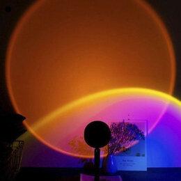 Ночники и декоративные светильники - Ночник проектор Sunset - Красный Закат, 0