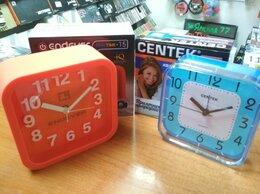 Часы настольные и каминные - Будильники новые разные, 0