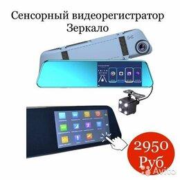 Видеорегистраторы - Сенсорный видеорегистратор в виде зеркала, 0