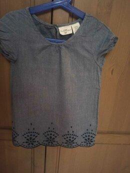 Рубашки и блузы - Блузка H&M с вышивкой. 116 размер, 4-6 лет, 0