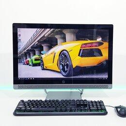 Моноблоки - Моноблок HP 24 дюйма на Core i3 + SSD 240Gb, 0