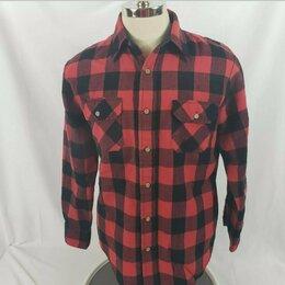 Рубашки - Рубашка лесоруба Sears. Винтаж. Made in Korea. , 0