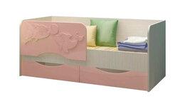 Кровати - Детская кровать Дельфин-2 МДФ 1,6 м., 0