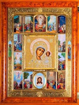 Иконы - Икона Божией Матери Казанская 14 клейм, 0