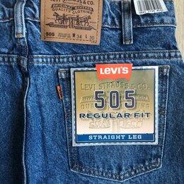 Джинсы - Джинсы Levis 505 orange tab W34-L30, W34-L34, 0