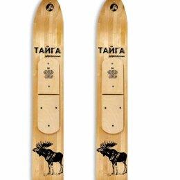 Беговые лыжи - Охотничьи лыжи Маяк Тайга 90х15 см, дерево, 0