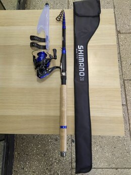 Удилища - Спининг Shimano 2,1м с катушкой, 0