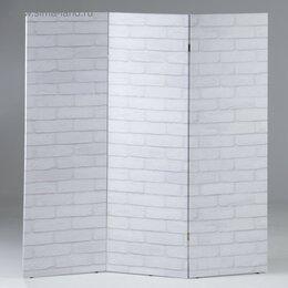 """Ширмы - Ширма """"Кирпичная стена"""", 160 × 150 см, 0"""