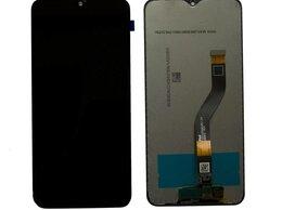 Корпусные детали - Дисплеи для Samsung A10S, A107, A107F, черный , 0