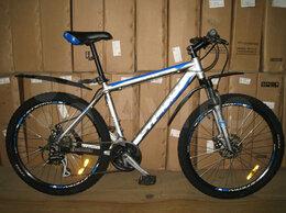 Велосипеды - Велосипед алюминиевый с дисковыми тормозами, 0