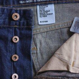 Джинсы - Новые  прямые джинсы H&M оригинал размер 50  (34х32), 0