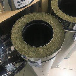 Дымоходы - Сэндвич d 115/200 мм L=1,0 м 0,8 мм нерж/нерж, 0