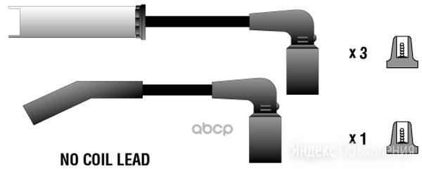 Комплект Проводов Зажигания Daewoo Lanos(T100) Parts-Mall арт. PEC-E04 по цене 730₽ - Отопление и кондиционирование , фото 0