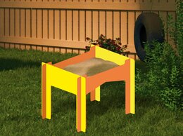 Песочницы - Песочница высокая для детей-колясочников…, 0