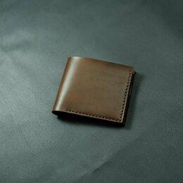 Кошельки - Компактное портмоне из кожи. Шью из кожи, 0