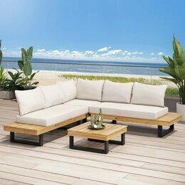 Комплекты садовой мебели - Садовая мебель из дерева и металла , 0