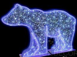 """Новогодний декор и аксессуары - Световая напольная фигура """"Медведь Twinkle"""", 0"""