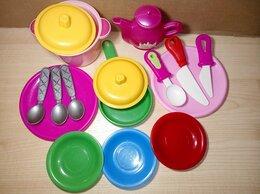 Игрушечная еда и посуда - Детский игрушечный набор посуды, 0