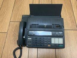 Проводные телефоны - Факс Panasonic KX-F130, 0