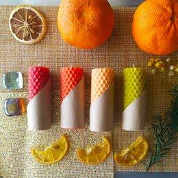 Ароматерапия - Набор свечей с цитрусовыми эфирными маслами, 0