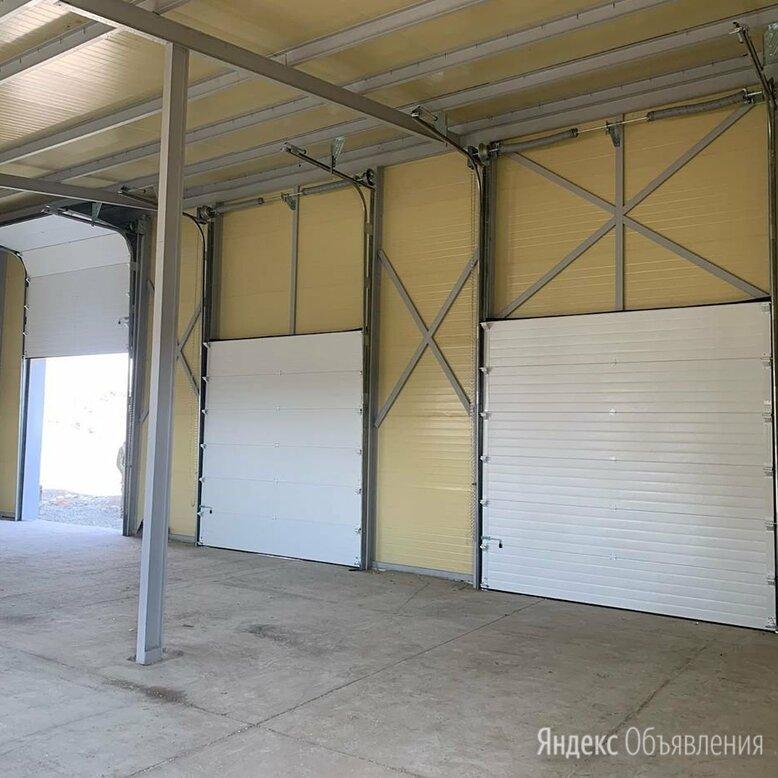 Гаражные секционные ворота по цене 48086₽ - Заборы, ворота и элементы, фото 0