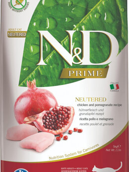 Корма  - farmina N&D neutered, 0
