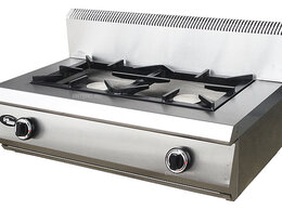 Промышленные плиты - Плита газовая Grill Master Ф2ЖТЛПГ настольная, 0